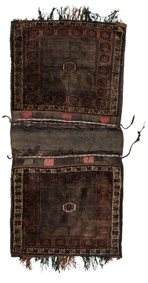 Afghani Saddleback Hand-Made Wool Rug - Tabak Rugs