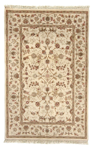 Chinese Tabriz Design Hand-Made Wool, Silk Rug - Tabak Rugs
