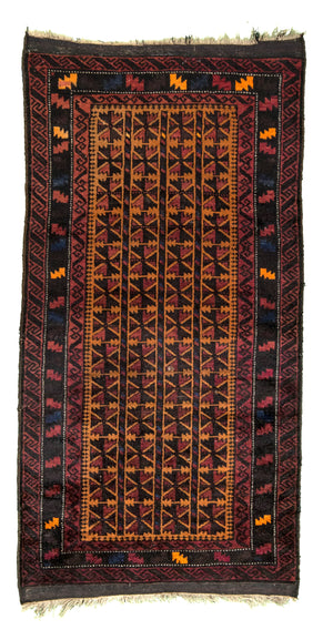 Baluchi Hand-Made Wool Rug - Tabak Rugs