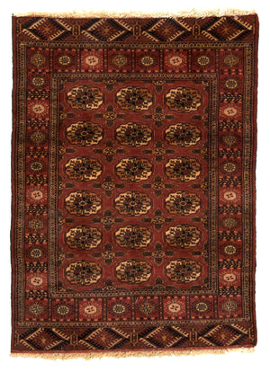 Pakistani Bukhara Hand-Made Wool Rug - Tabak Rugs