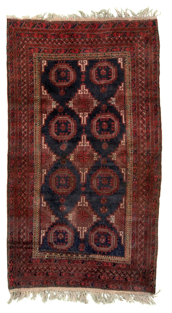 Turkmeni Hand-Made Wool Rug - Tabak Rugs