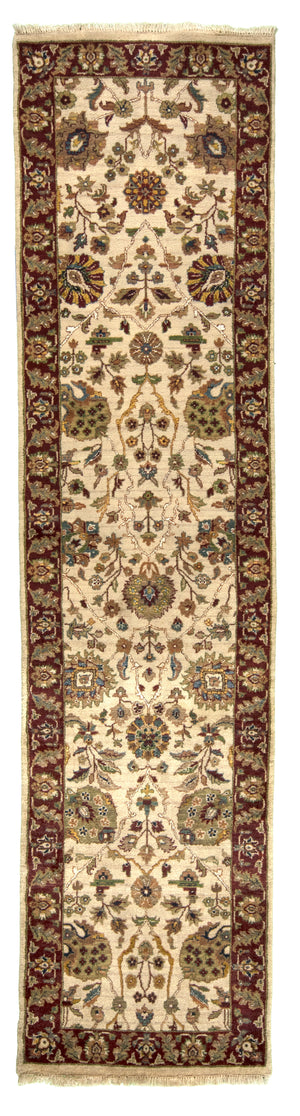 Indian Chobi Hand-Made Wool, Silk Rug - Tabak Rugs