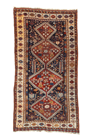 Persian Kashkahi Hand-Made Wool Rug - Tabak Rugs