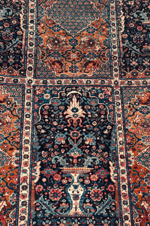 Persian Lavar Kerman Hand-Made Wool Rug - Tabak Rugs