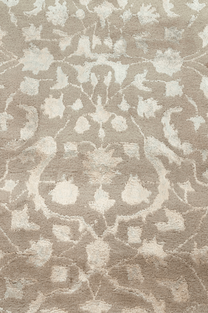 Contemporary Wool and Silk Rug - Tabak Rugs