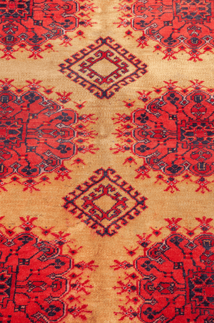 Afghani Hand-Made Wool Rug - Tabak Rugs