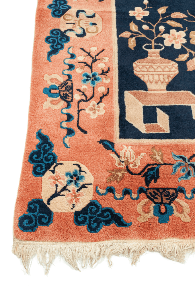 Chinese Pecking Hand-Made Wool Rug - Tabak Rugs