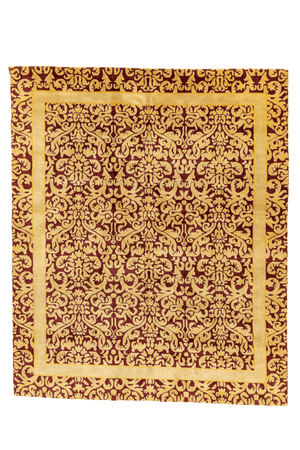 Nepal Hand-Made Wool Rug - Tabak Rugs