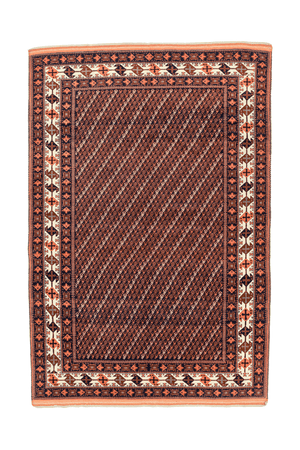 Turkmen Hand-Made Wool Rug - Tabak Rugs