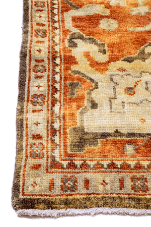 Oushak Hand-Made Wool Rug - Tabak Rugs