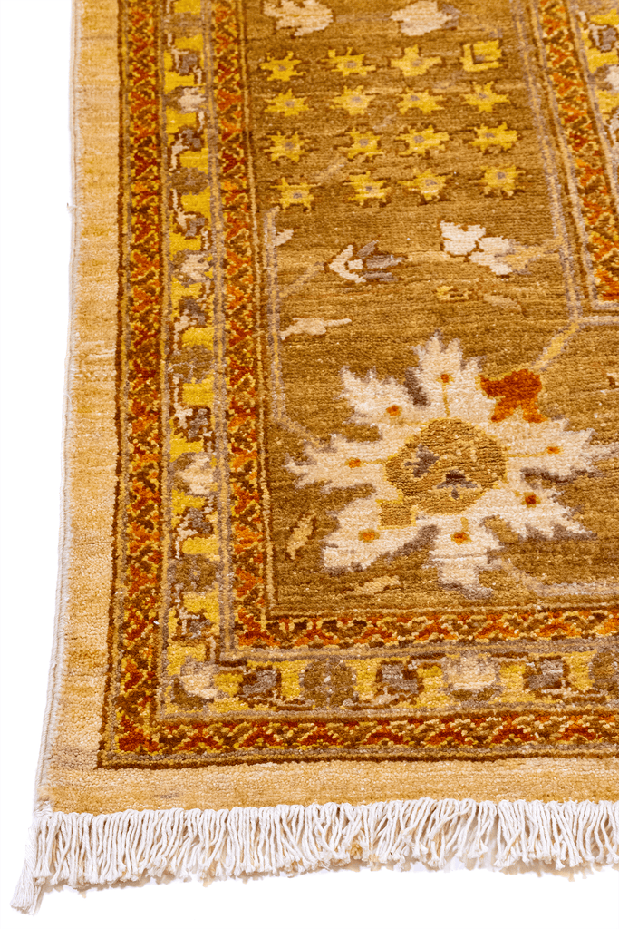 Peshawar Hand-Made Wool Rug - Tabak Rugs