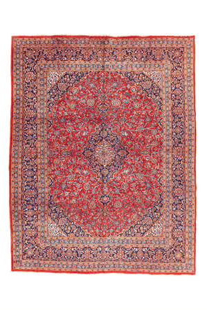 Persian Kashan Hand-Made Wool Rug - Tabak Rugs