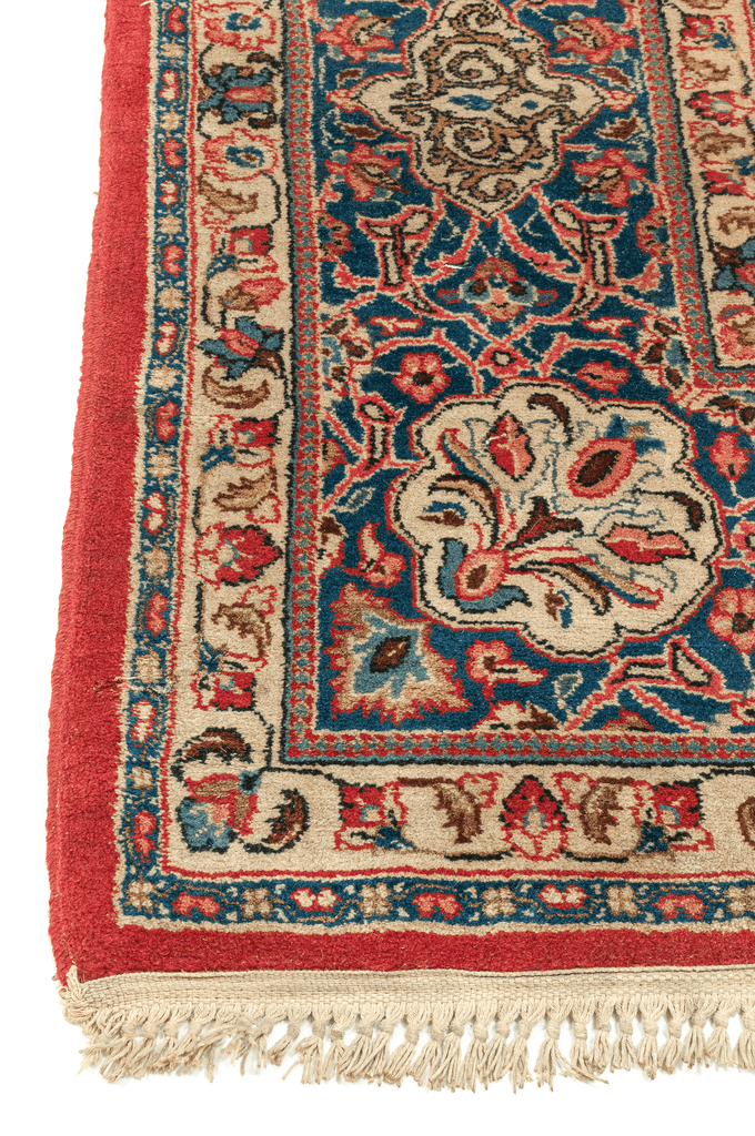 Indo-Persian Hand-Made Wool Rug - Tabak Rugs