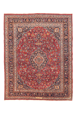 Persian Kashan Design Hand-Made Wool Rug - Tabak Rugs