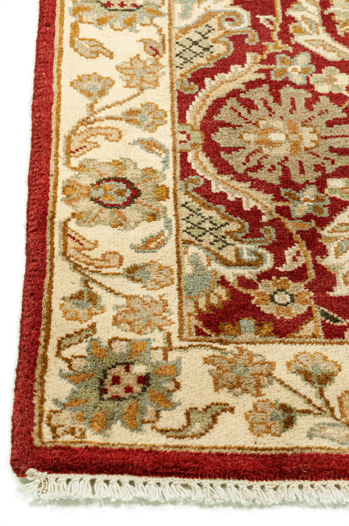 Indian Hand-Made Wool Rug - Tabak Rugs
