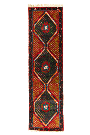 Persian Seneh Hand-Made Wool Rug - Tabak Rugs