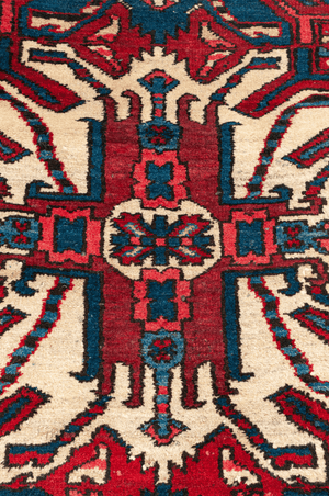 Persian Chalabert Design Hand-Made Wool Rug - Tabak Rugs