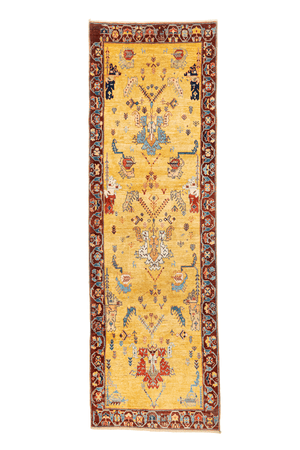 Persian Bijar Hand-Made Wool Rug - Tabak Rugs