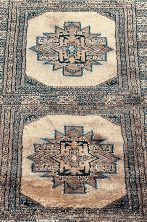 Pakistani Hand-Made Wool and Silk Rug - Tabak Rugs