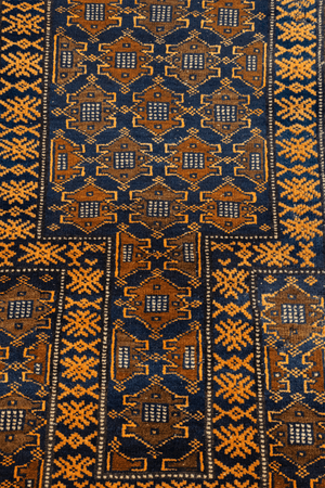 Baluchi Prayer Hand-Made Wool Rug - Tabak Rugs