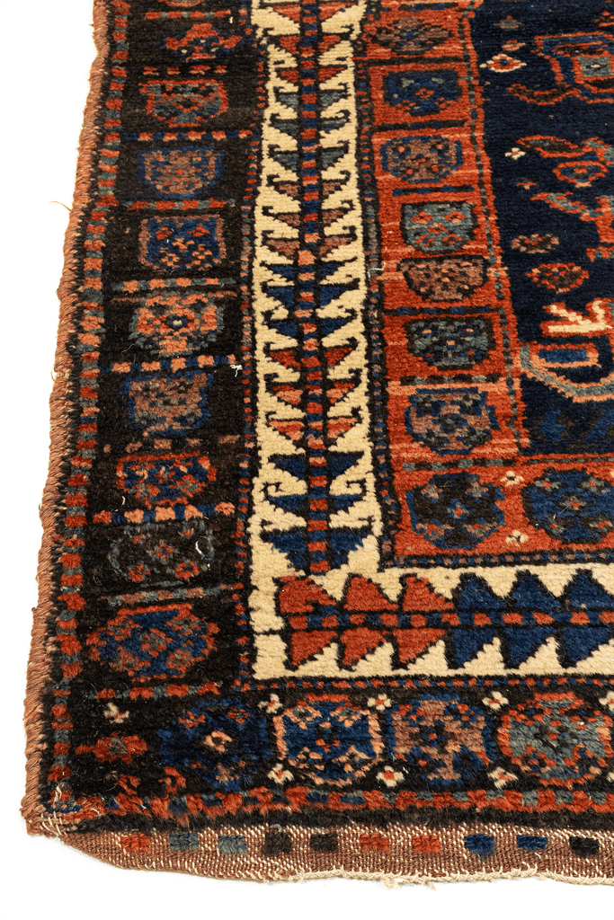 Kurdish Kazak Hand-Made Wool Rug - Tabak Rugs