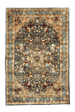 Indian Hunting Design Hand-Made Wool Rug - Tabak Rugs