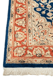 Indian Hand-Made Wool and Silk Rug - Tabak Rugs