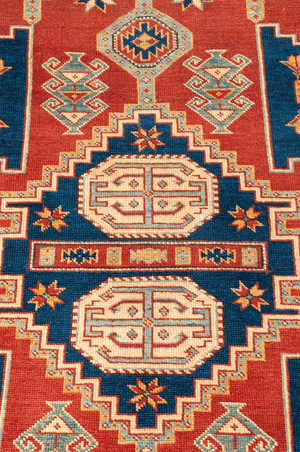 Pakistani Shirvan Hand-Made Wool Rug - Tabak Rugs