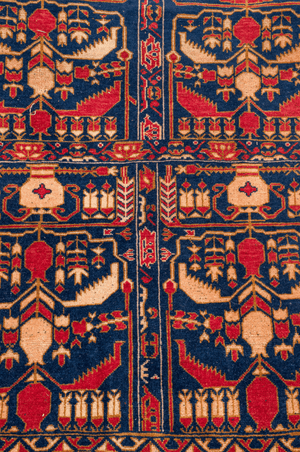 Morrocan Pictural Hand-Made Wool Rug - Tabak Rugs