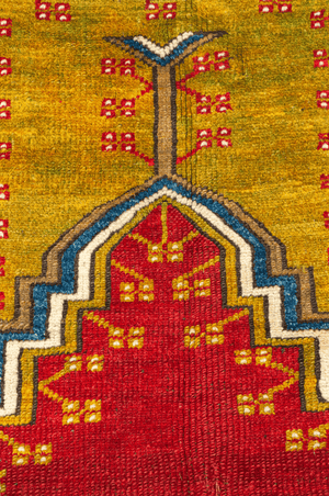 Turkish Ladik Hand-Made Wool Rug - Tabak Rugs