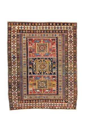 Caucasian Shirvan Hand-Made Wool Rug - Tabak Rugs