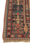 Antique Lezgi Hand-Made Wool Rug - Tabak Rugs