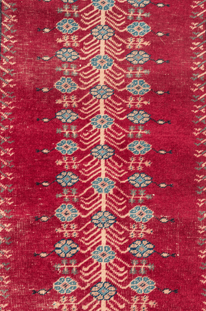 Turkish Ghordez Hand-Made Wool Rug - Tabak Rugs