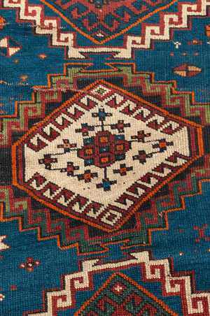Kazak Hand-Made Wool Rug - Tabak Rugs