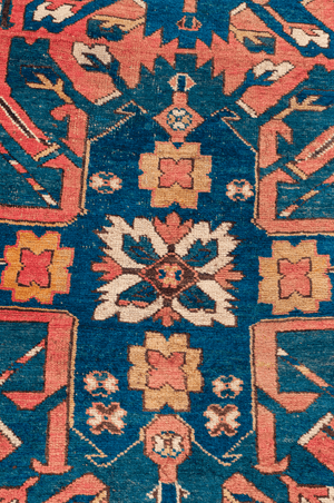 Caucasian Eagle Kazak Hand-Made Wool Rug - Tabak Rugs