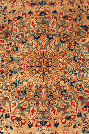 Persian Qum, Luxury Silk Rug - Tabak Rugs