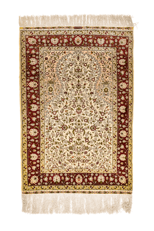 Turkish Herekeh, Luxury Wool and  Silk Rug - Tabak Rugs