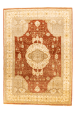Indian Chobi Hand-Made Wool Rug - Tabak Rugs