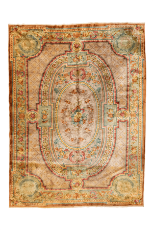 Aubison Design Chinese Hand-Made Wool Rug - Tabak Rugs