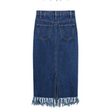 The Dynamite Denim Pencil Skirt