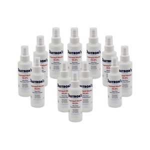 A. Isopropyl Alcohol 99.9% 4oz Mini Pump Spray, 12 Pack - SHIPPING INCLUDED