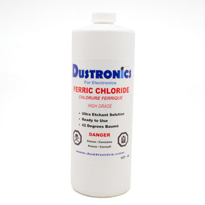 AZ. High Grade Ferric Chloride Liquid Solution 500ML Bottle - Shipping Included