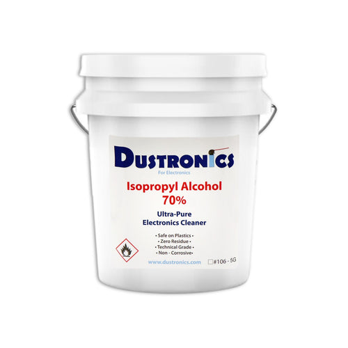 A. ULTRA-PURE ISOPROPYL ALCOHOL 70%, 5 GALLON PAIL - SHIPPING INCLUDED