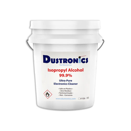 A. ULTRA-PURE ISOPROPYL ALCOHOL 99.9%, 5 GALLON PAIL - SHIPPING INCLUDED