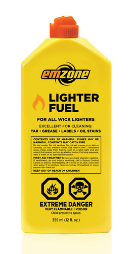 Emzone Lighter Fluid, 355 ML