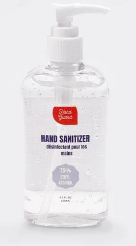 Hand Guard Hand Sanitizer, 8.5 FL OZ, 250ML