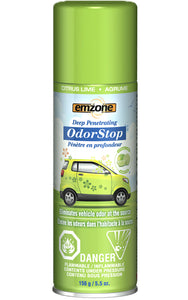 Emzone OdorStop Odor Neutralizer - Citrus Lime, 156g
