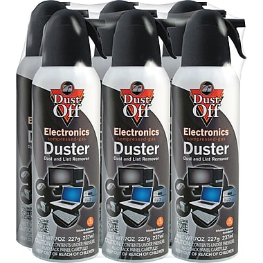 AIR DUSTER 12oz 340g DUST-OFF 6 Pack