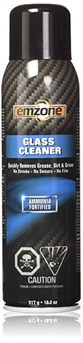 Glass Cleaner Ammonia Fortified 1 Pack