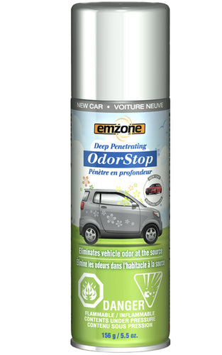 Emzone OdorStop Odor Neutralizer - New Car, 156g